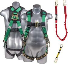 Palmer Safety Harness Withdetachable Single Leg 6 Internal Shock Absorbing