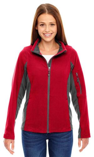 North End Women/'s Inside Storm Placket Polyester Textured Fleece Jacket 78198