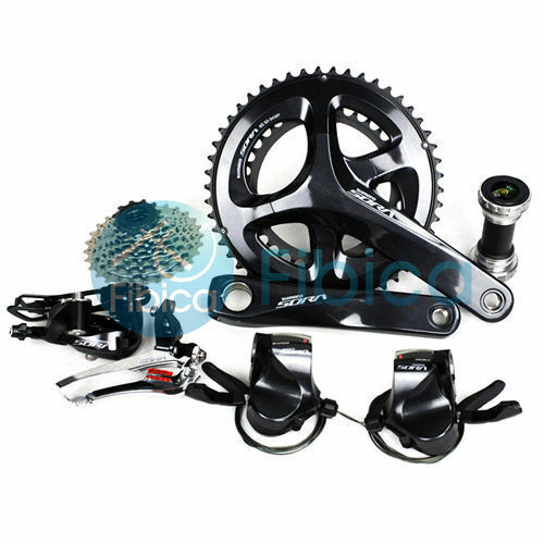 New Shimano SORA R3000 Flat Shifters Road 9speed 5034T 28T Groupset Group
