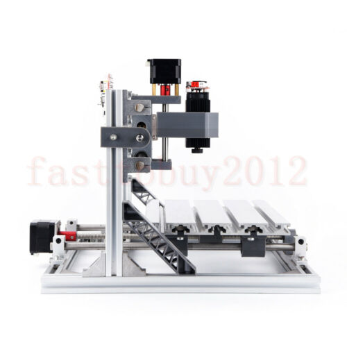 Laser DIY 2418 3 Axis CNC Router Engraving Machine Kits Carving Milling PVC//PCB