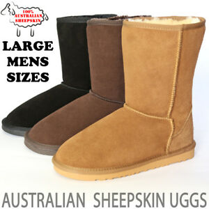 aef6885bb54 Details about Ugg Boots Classic Short Australian Sheepskin Uggs Mens Sizes  7 8 9 10 11 12