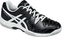 Asics E507Y GelDedicate 4 Men's Tennis Shoes (Black/White/Silver)