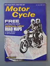 R&L Mag: Motor Cycle 30 June 1966 Mike Hailwood/Grand Prix /Spring Frames