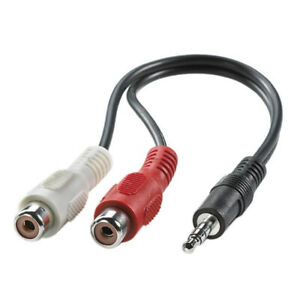 Stereo-Jack-Plug-to-Twin-Phono-Socket-Cable-0-2m