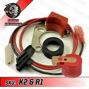 Powerspark Electronic Ignition Kit For Lucas 25D and DM2 4 Acyl Distributor