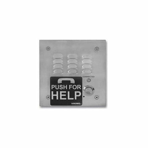 e160030a Viking E-1600-30a 5 X 5 Stainless Emergency Phon