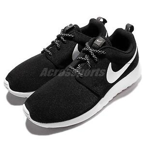 Wmns Nike Roshe One Black White Rosherun Women Running Shoes Sneakers 844994002