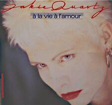 ++JACKIE QUARTZ à la vie à l'amour/bye bye l'ennui SP 1987 CBS EX++