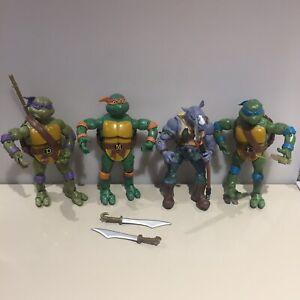 Tmnt-Classic-Rocksteady-Figura-De-Acao-6-034-Teenage-Mutant-Ninja-Turtles-Donatello
