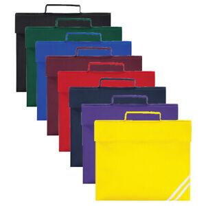 Quadra ACADAMY BOOK BAG STRAP SCHOOL KIDS NAME CARD HOLDER PADDED HANDLE HI VIS