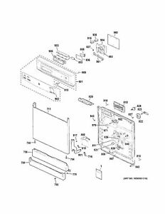 P WD13X61 New Genuine OEM GE Dishwasher Door Latch Assembly Free Shipping