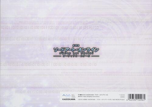 Art Book Ordinal Scale Animation Artworks Sword Art Online The Movie
