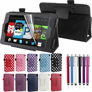 Fire-HD-6-Case-For-2014-Amazon-Kindle-6-034-Tablet-Slim-Leather-Smart-Case-Cover