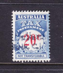 AUSTRALIAN-TAX-INSTALMENT-20c-USED