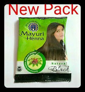 3cba331c11d49 3 x Black Herbal Henna Hair Powder Indian Ayurvedic Herbs HairColor ...
