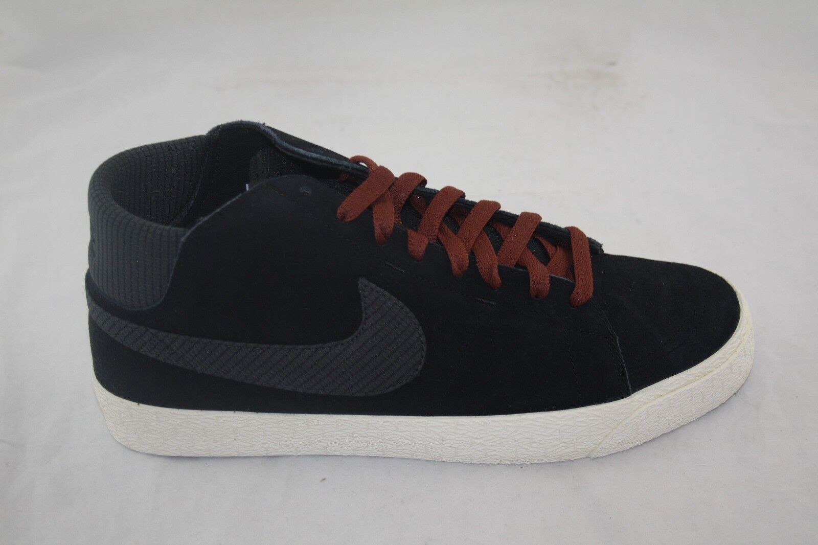 MEN'S NIKE BLAZER MID LR 510965-002 BLACK/ANTHRACITE-FIELD BROWN 80.00