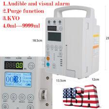 Rechargable Medical Infusion Pump Iv Fluid Equipment Audible Ampvisual Alarm Purge