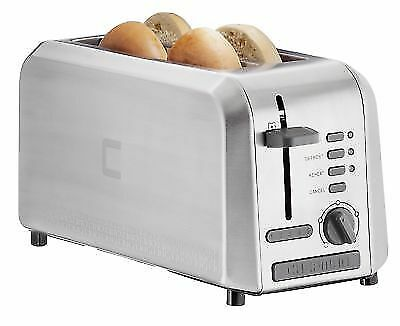 chefman rj31 ss 4l long slot toaster with extra wide slots. Black Bedroom Furniture Sets. Home Design Ideas