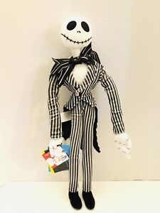 "Disney Store Nightmare Before Christmas Jack Skellington 18"" Posable Doll NWT!"