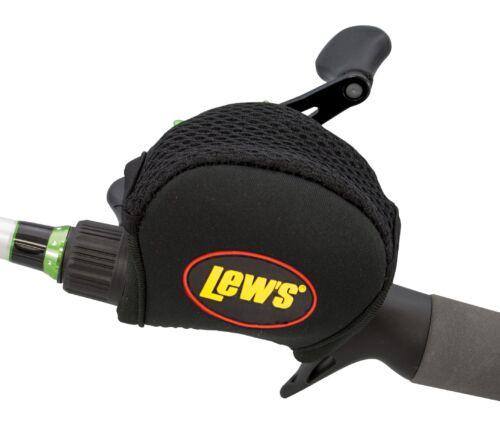 Lews Lew/'s Baitcast Reel Cover Black 4mm Neoprene For Most Low Profile Reels NEW