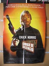 A1961  CODIGO DE SILENCIO CHUCK NORRIS