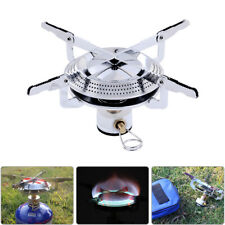 UK 3500W Portable Gas-Burner Fishing Outdoor Cooking Camping Picnic Cook Stove