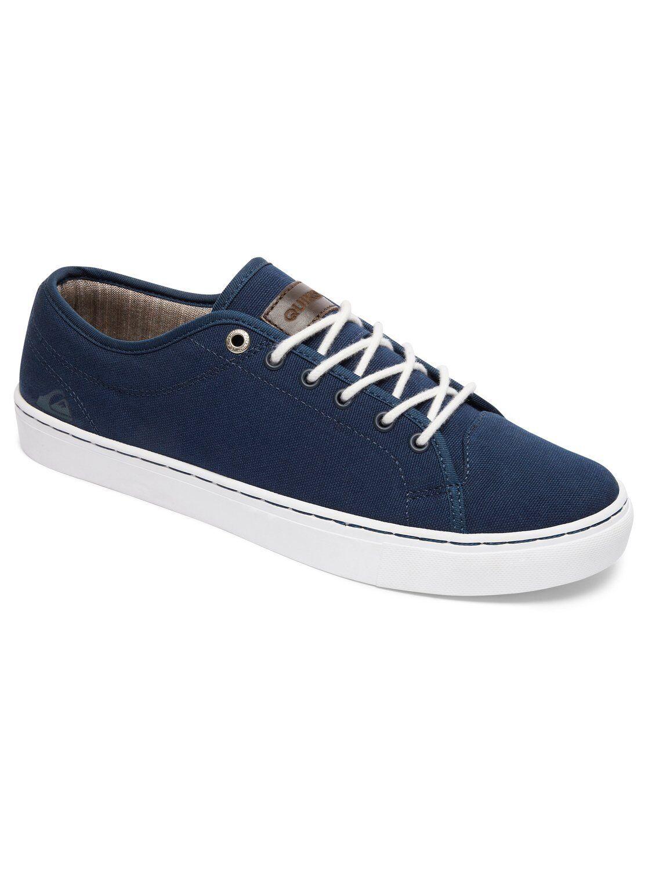 Neu Quiksilver Cove Canvas Herren Sneakers Turnschuhe blue blue white Gr. 44