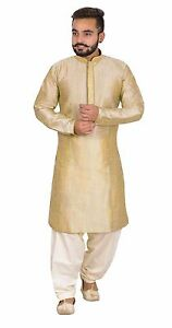 Caricamento dell immagine in corso uomo-elegante-indiano-moda -beige-Kurta-shalwar-Kameez- 03f8961bb32