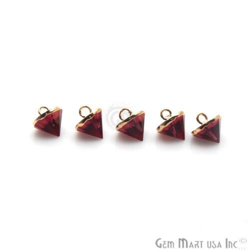 Choose Necklace Pendant Point Shape Single Bail Gold Plated Connectors For Women