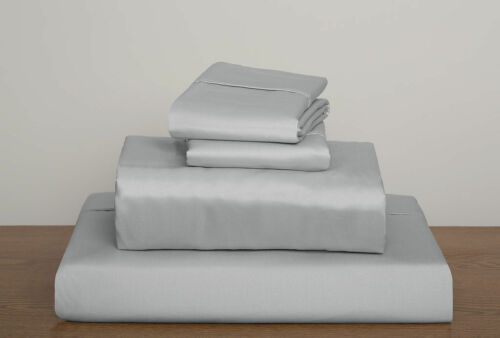 1000TC Egyptian Cotton Sheet Set for RV Camper/&Bunk Beds All Size,Pattern Silver