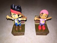 "Disney Jake and the Neverland Pirates Izzy Cake Toppers 3"" Tall (3)"