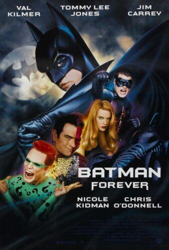 "Batman Forever 1995 Movie Silk Fabric Poster VAL KILMER 24/""x36/"" 11/""x17/"""