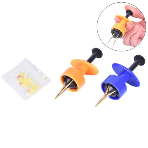 1pc Bloodworm Clip Bait Lure Earthworm Clip Fishing Tool Worm Hook Clamp ZJP