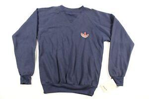Trefoil Run Dmc Logo Adidas Petit Homme Vintage 80s Neuf Crewneck zVSUMp