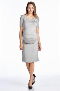 fcedd4efd81 Image is loading Fashion-Pregnant-Women-Maternity-Short-Sleeve-Casual-Dress-