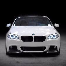 Fit 11-15  F10 5 Series  BMW V-Style Front Bumper Lip PU Material
