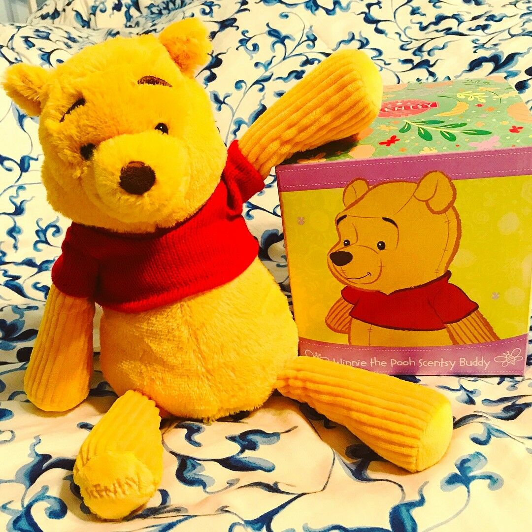 Scentsy Winnie The Pooh Buddy - New In Box