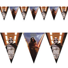 Unique Party 72200-2.3m Star Wars 7 Bunting Flags