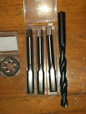 HSS Tap+split adjustable die button RH BA BSW BSF 1//4 5//16 3 5//8 1//2 7 9//16 ISO