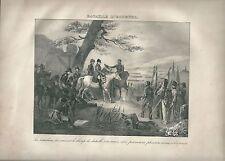 1827 BATAILLE D'ECKMÜHL Madou Napoleone Quinta coalizione Five Coalition Eggmühl