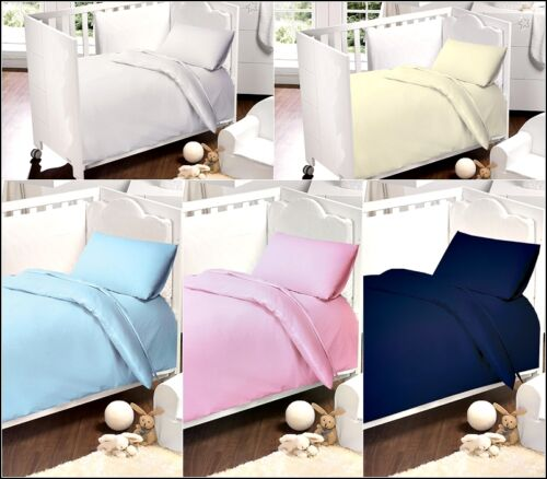 5PCS BOYS/&GIRLS COT BED BED IN BAG 4.5//9.0 TOGS 120X150 100/% LUXURY COTTON