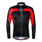 Fleece Thermal Winter Cycling Long Sleeve Jersey Bicycle Bike Windproof Jacket