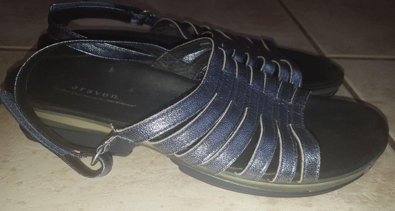 Aravon New Balance Azul Metálico Sandalias