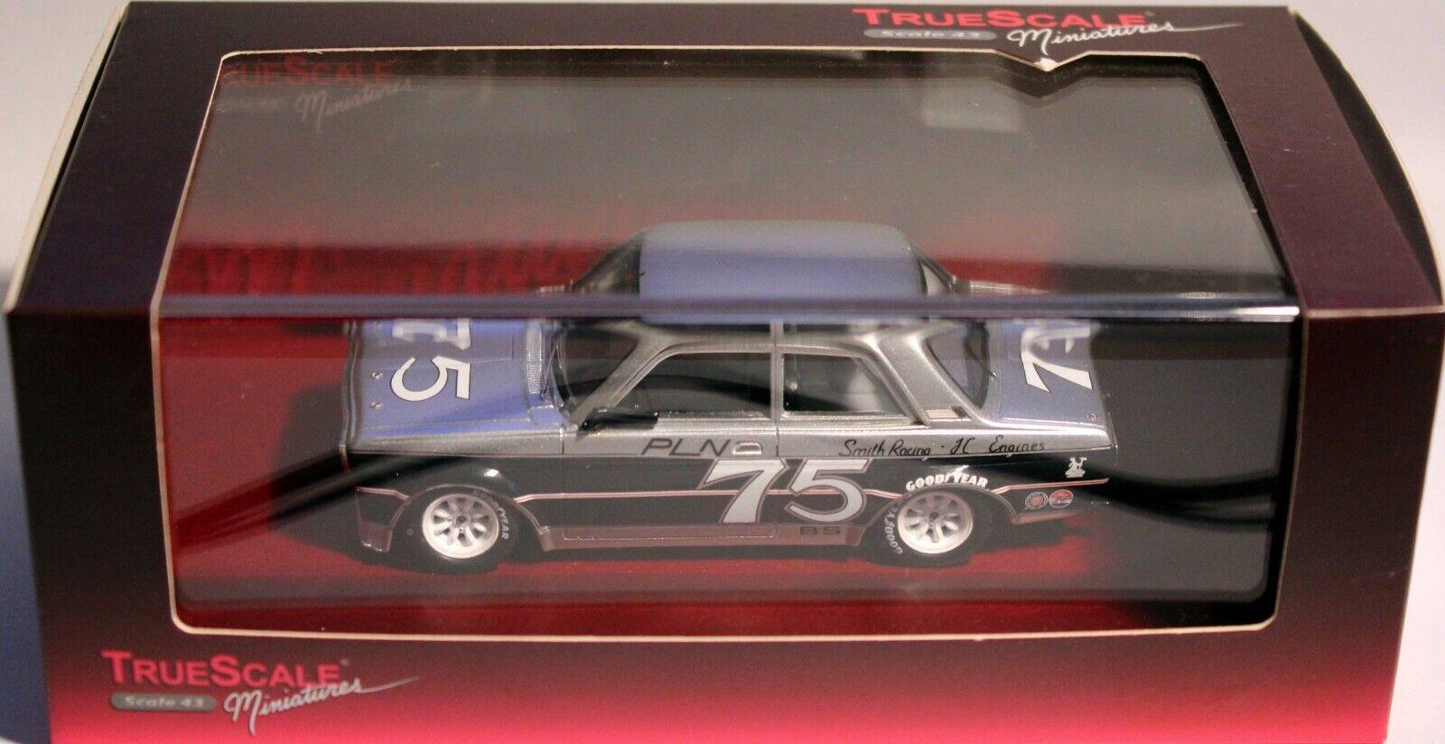 TrueScale Miniatures 1 43 1976 Datsun 510 75 Paul Newman PLN RACING TSM104318