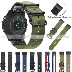 NEW 26mm Quick Release Silicone Wrist Band Strap For Garmin Fenix 5x 5x Plus