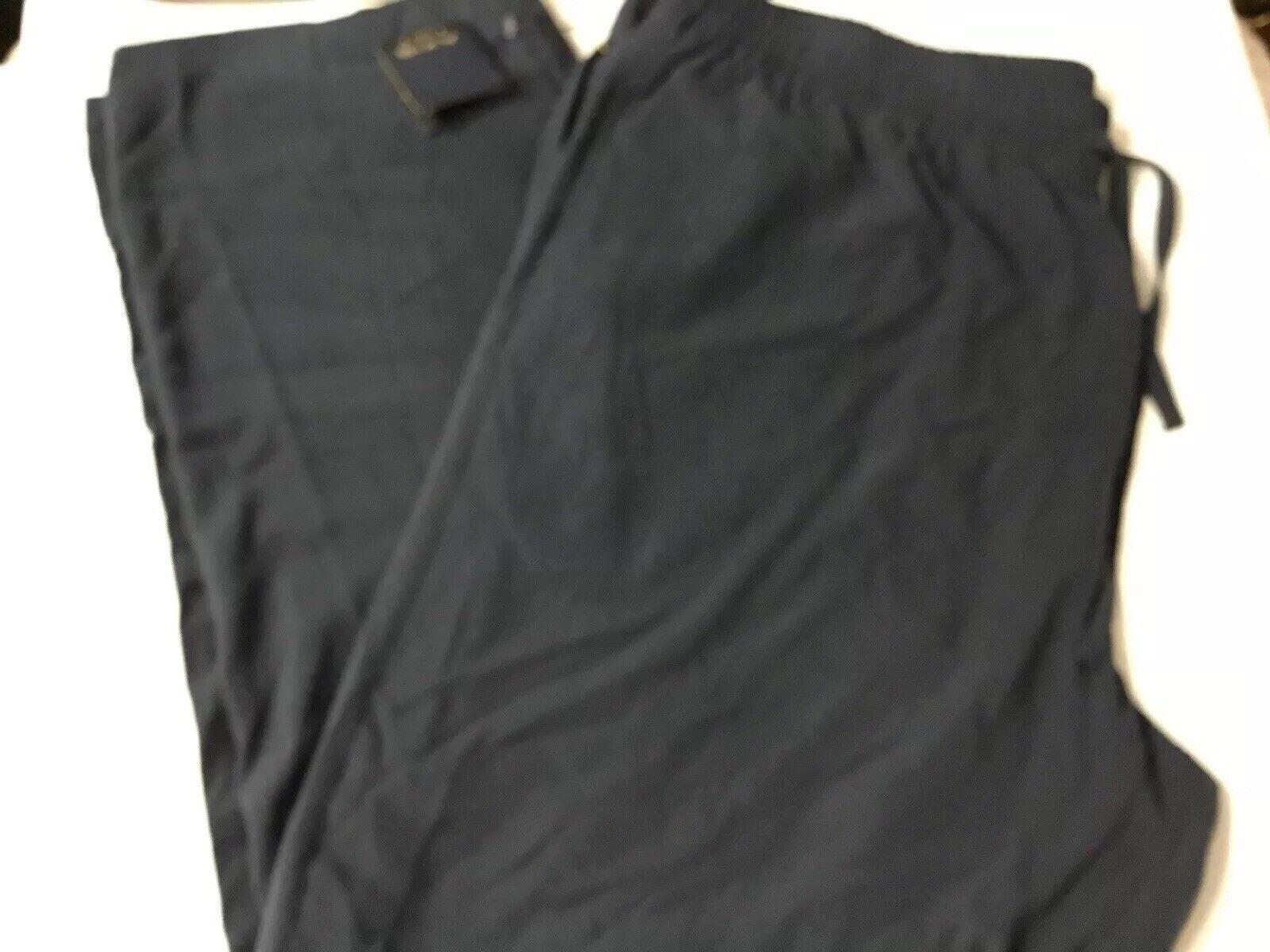 Axis LA Men's Drawstring waist Silk Lounge Pants, Size 3XB