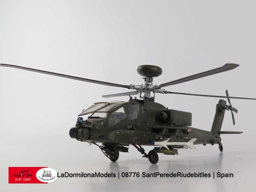P326 - Plastic AH-64D Longbow Apache U.S.Army Helicopter - 1 48 BUILT