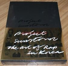 project SUN STORM: the Art of Rap in CD + DVD Beenzino Dok2 BewhY BOX SET