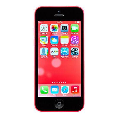 Apple iPhone 5c     - 32GB  --       PINK     --       Smartphone   ohne Simlock