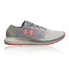 Under Armour Womens Threadborne Blur Running Shoes Trainers Sneakers Grey Sports